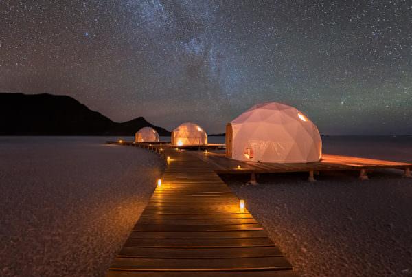 Luxury Pop-up Camps