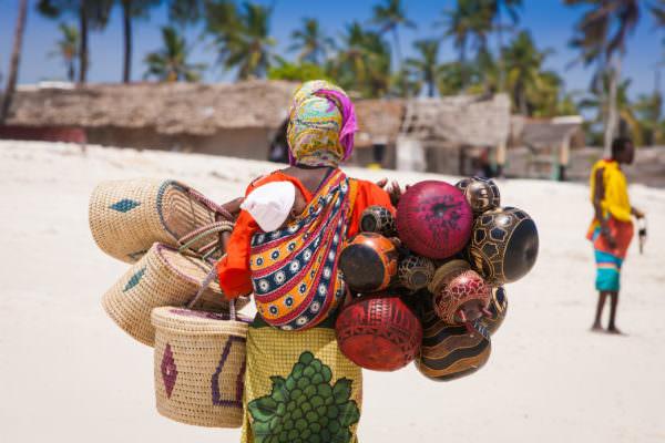 Colourful Stone Town, Zanzibar