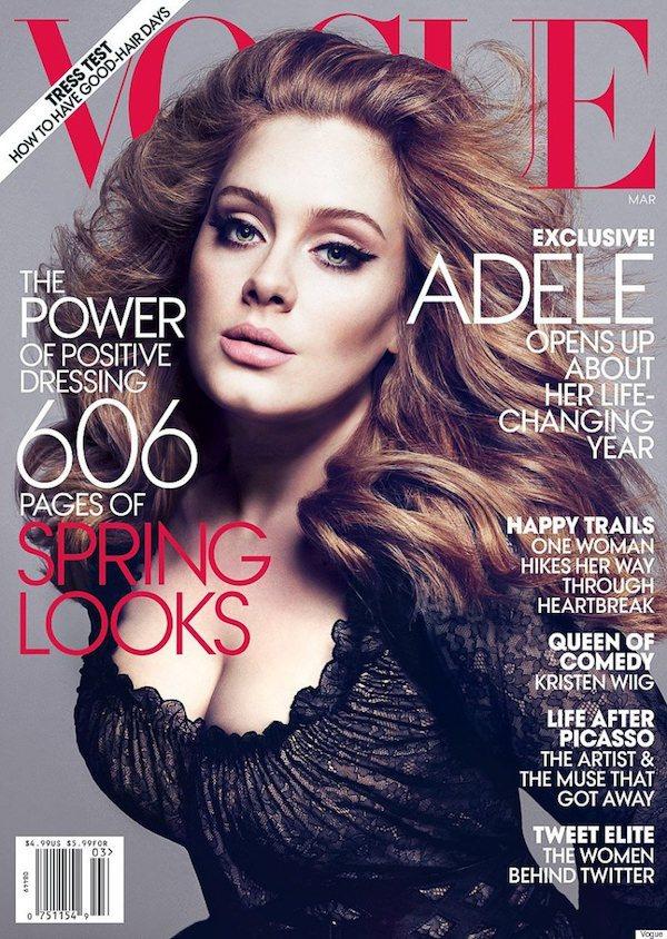 VOGUE COVER adele+vogue+cover